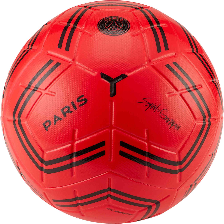 Nike Psg Magia Match Soccer Ball Infrared Black Soccerpro