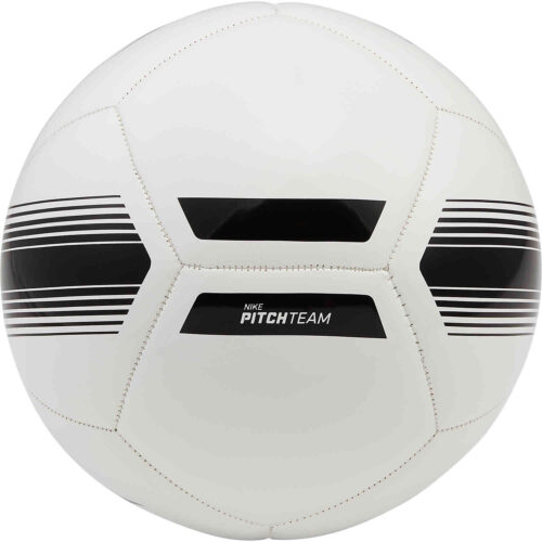Nike Pitch Soccer Ball – White & Black