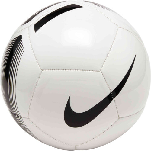 Nike Pitch Soccer Ball – White & Black