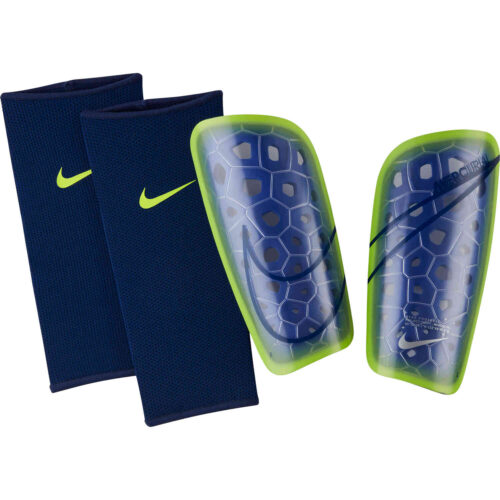 Nike Mercurial Lite Shin Guards – Sapphire & Blue Void with Volt