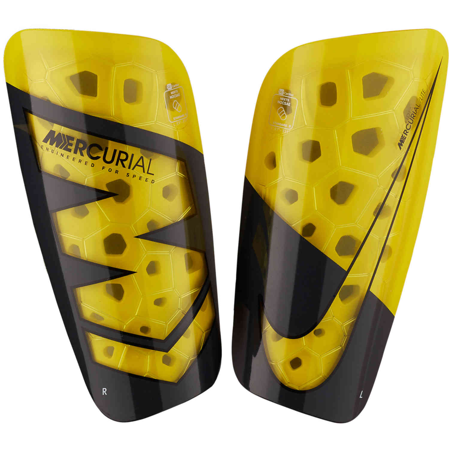 the best attitude c6d17 8e511 Nike Mercurial Lite Shin Guards – NOCSAE