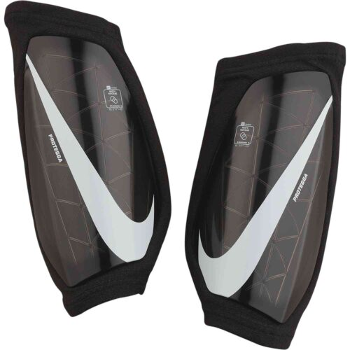 Kids Nike Protegga Shin Guards – Black/White