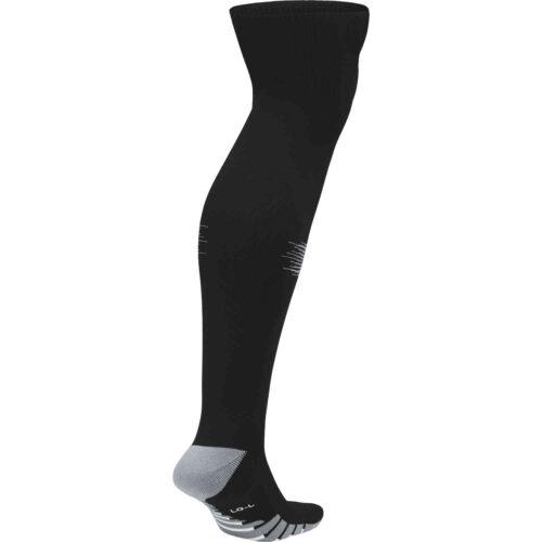 Nike Team Matchfit Soccer Socks – Black/Cool Grey
