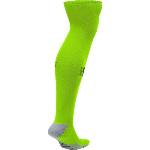Nike Team Matchfit Soccer Socks – Volt/Black