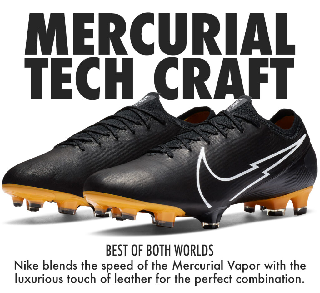 mercurial vapor leather tech craft pack