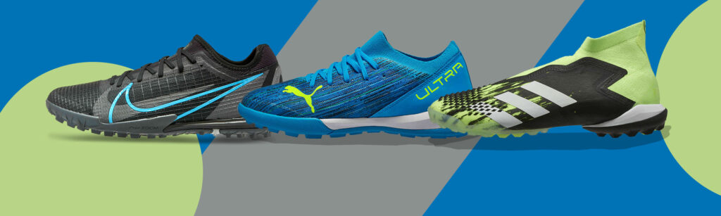 Turf soccer shoes and cleats