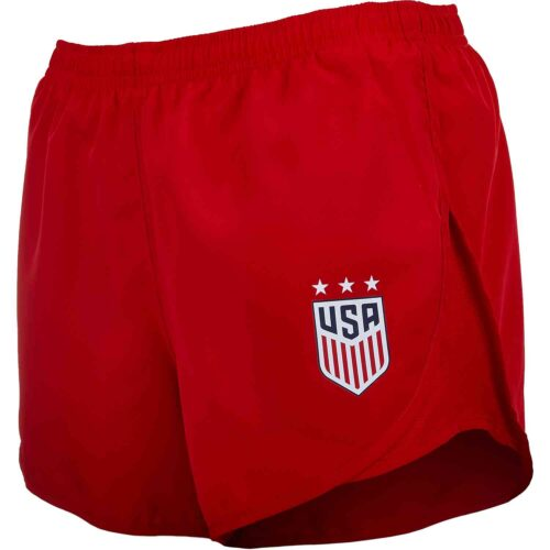 Womens Nike USWNT Tempo Shorts – University Red
