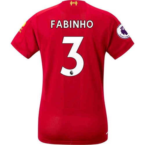 2019/20 Womens New Balance Fabinho Liverpool Home Jersey