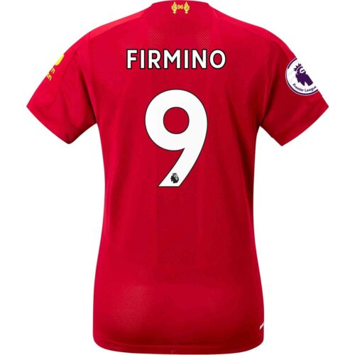 2019/20 Womens New Balance Roberto Firmino Liverpool Home Jersey