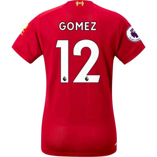 2019/20 Womens New Balance Joe Gomez Liverpool Home Jersey