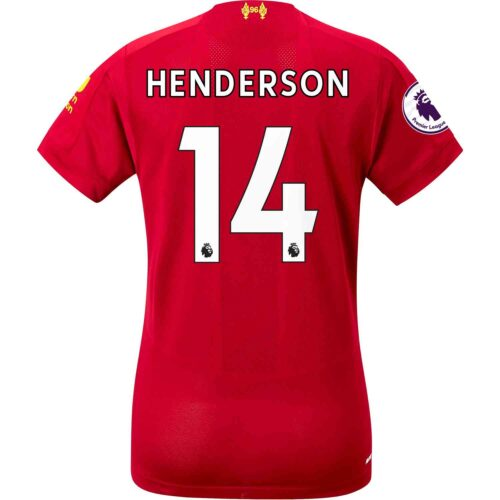2019/20 Womens New Balance Jordan Henderson Liverpool Home Jersey