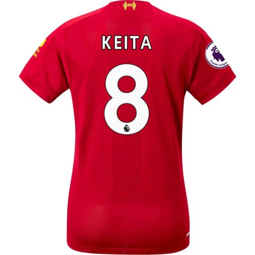 2019/20 Womens New Balance Naby Keita Liverpool Home Jersey