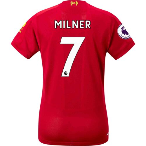 2019/20 Womens New Balance James Milner Liverpool Home Jersey