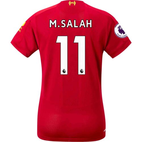 2019/20 Womens New Balance Mohamed Salah Liverpool Home Jersey
