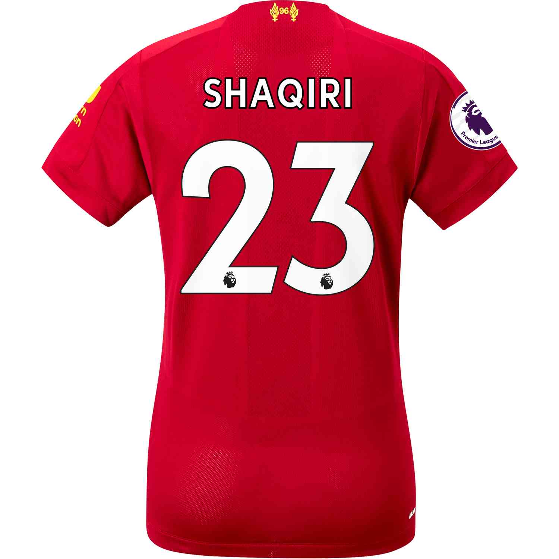 2019/20 Womens New Balance Xherdan Shaqiri Liverpool Home Jersey - SoccerPro