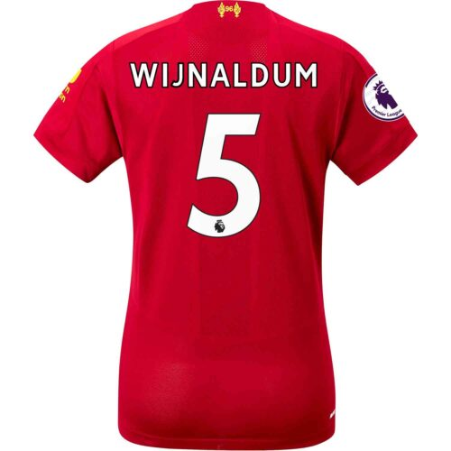 2019/20 Womens New Balance Georginio Wijnaldum Liverpool Home Jersey